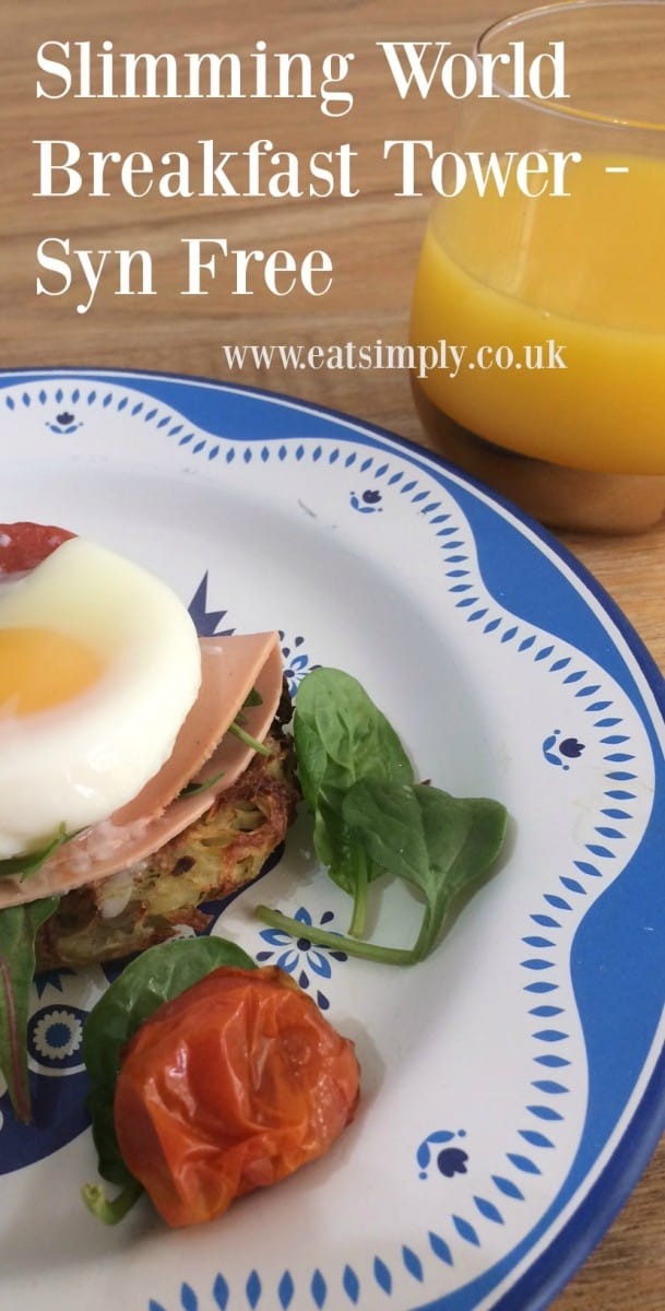 Syn Free Slimming World Breakfast, slimming world breakfast tower
