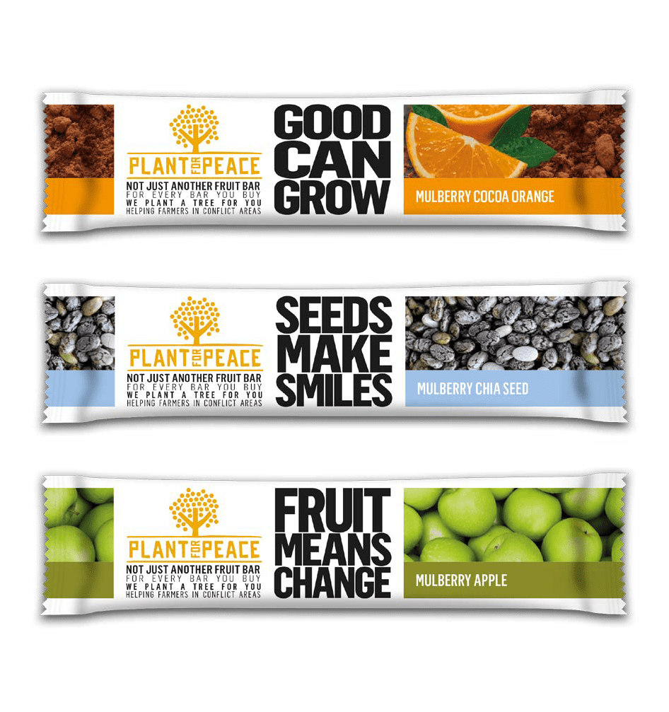 Plant for Peace Bars