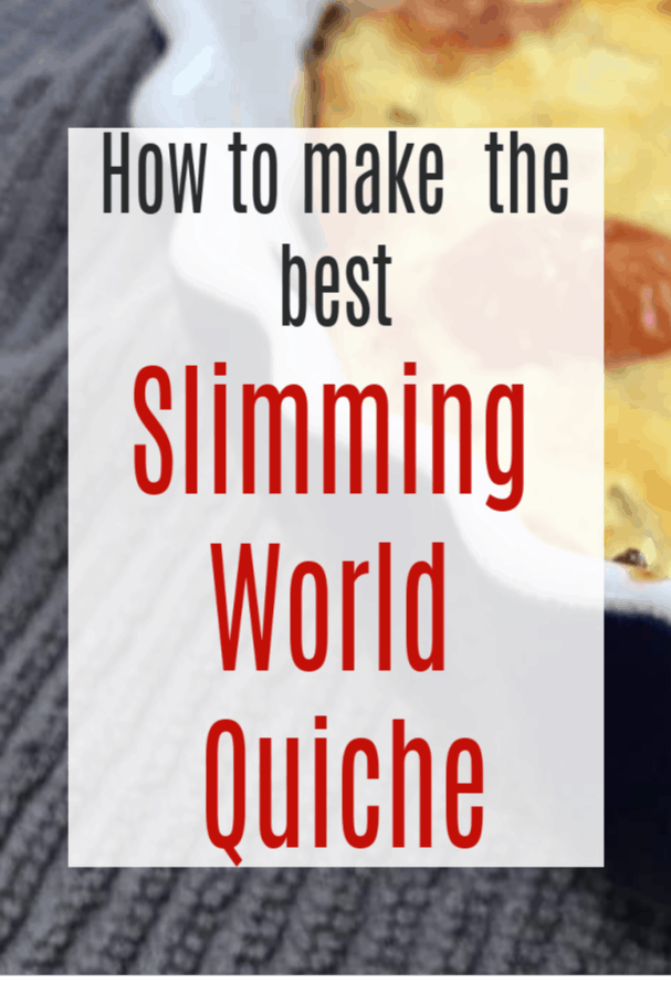 best Slimming World quiche