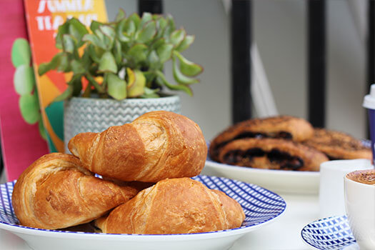 Vegan Croissants at Carluccios
