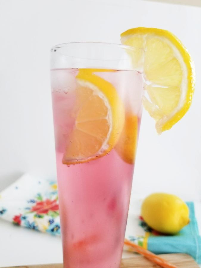 Orange & Cranberry Vodka Cocktail
