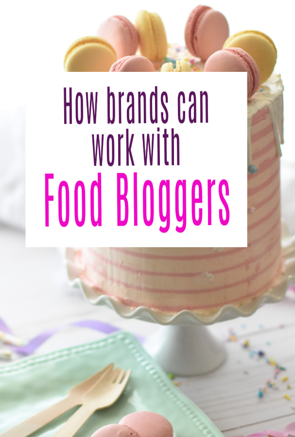 How Brands Can Work with Food Bloggers